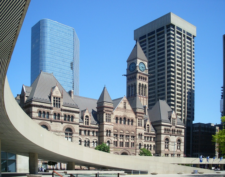 historical downtown Toronto buildings
